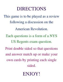 Quiz Quiz Trade Civil War and Reconstruction