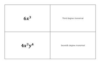 Quiz Quiz Trade Classify Polynomials