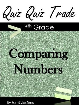 Quiz Quiz Trade Comparing Numbers