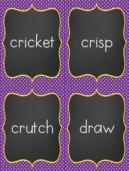 Quiz Quiz Trade Consonant Blends