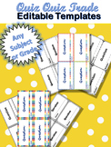 Quiz Quiz Trade Cooperative Learning Template