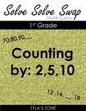 Quiz Quiz Trade Counting by 2s, 5s, and 10s