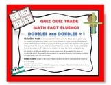 Quiz Quiz Trade Doubles Math Facts Fluency