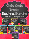 Quiz Quiz Trade ENDLESS Growing Bundle (Math & Literacy)
