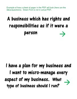Quiz Quiz Trade Economics Different Forms (Types) of Business Models