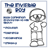 "Quiz Quiz Trade Game Cards for ""The Invisible Boy"""
