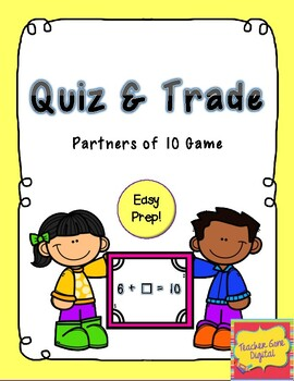 Quiz, Quiz, Trade Game for Partners of 10