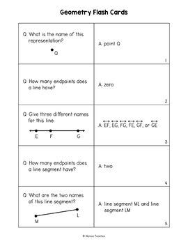 Quiz, Quiz, Trade: Geometry