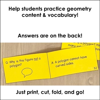 Geometry Review Flash Cards