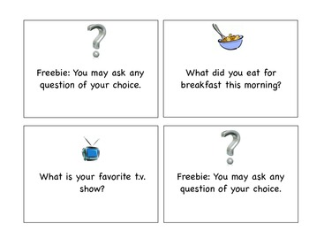 Quiz, Quiz Trade Getting to Know You Cards