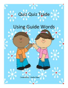 Quiz Quiz Trade - Guide Words