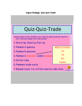 Quiz-Quiz-Trade Liquid Measure Conversion Cards