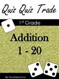 Quiz Quiz Trade Math Addition 1 - 20