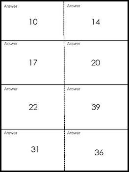 Quiz Quiz Trade Math Base Ten 1 - 60