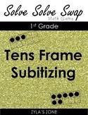 Quiz Quiz Trade Tens Frame Subitizing 1 - 20