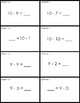 Quiz Quiz Trade Math Subtraction 1 - 10