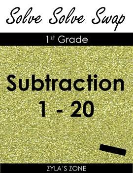 Quiz Quiz Trade Math Subtraction 1 - 20