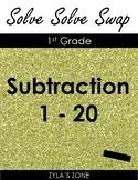 Quiz Quiz Trade: Math Subtraction 1 - 20
