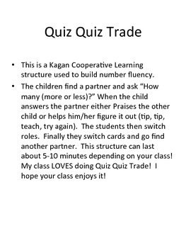 Quiz Quiz Trade More/Less Than to 40