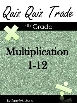 Quiz Quiz Trade Multiplication 1-12
