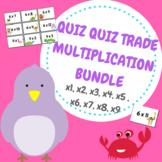 Quiz Quiz Trade Multiplication BUNDLE