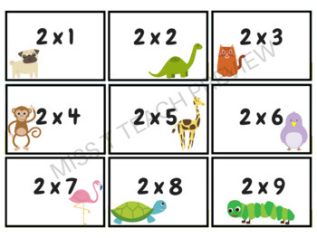 Quiz Quiz Trade Multiplication BUNDLE
