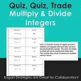 Quiz, Quiz, Trade--Multiply and Divide Integers