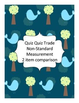 Quiz Quiz Trade Non-Standard Measurement 2 item comparison