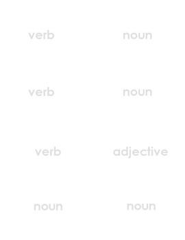 Quiz Quiz Trade Noun, Verb, or Adjective