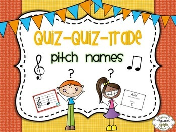 Quiz-Quiz-Trade: Pitch Names