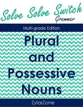 Quiz Quiz Trade Plural and Plural Possessive Nouns