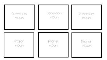 Quiz-Quiz-Trade Proper and Common Nouns