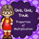 Properties of Multiplication, Quiz Quiz Trade Game