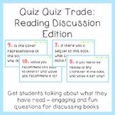 Quiz Quiz Trade: Reading Discussion Questions Edition