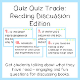 Quiz Quiz Trade: Reading Discussion Questions Edition