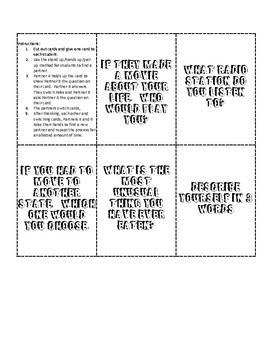 Quiz Quiz Trade - Team Building strategy
