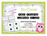 Quiz, Quiz, Trade Ten Frame Flashcards