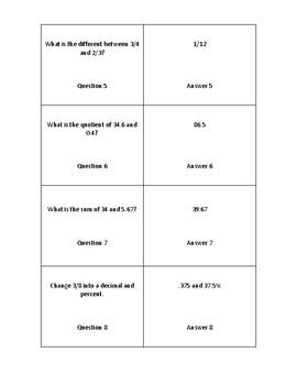 Quiz Quiz Trade Test Prep Activity