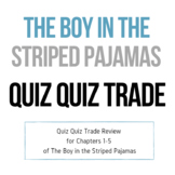 Quiz Quiz Trade - The Boy in the Striped Pajamas Chapters 1-5