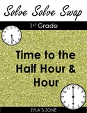 Quiz Quiz Trade Time to the Hour & Half Hour