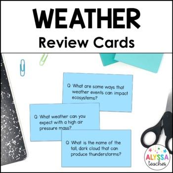 Quiz, Quiz, Trade: Weather (SOL 4.6)