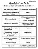 Quiz Quiz Trade: Wordly Wise 3000 Book 4-Lesson 10
