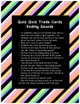 Quiz Quiz Trade Ending Sound  Cards