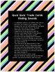 Quiz Quiz Trade Ending Sound  Cards