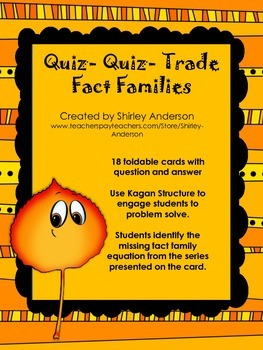 Quiz-Quiz-Trade for Fact Families