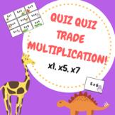 Quiz Quiz Trade Multiplication (x1, x5, x7)