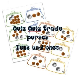Quiz Quiz trade purses 10p and 1ps