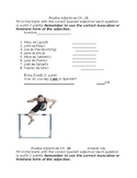 Quiz Realidades Ch. 1B adjective quiz