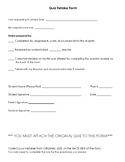Quiz Retake Form - 10 Questions