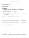 Quiz Retake Form - 5 Questions